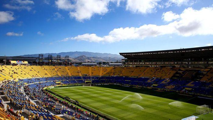 LAS PALMAS, SPAIN - MAY 14: A general view of Estadio de Gran Canaria during the La Liga match between UD Las Palmas and Barcelona at Estadio de Gran Canaria on May 14, 2017 in Las Palmas, Spain. (Photo by Charlie Crowhurst/Getty Images)