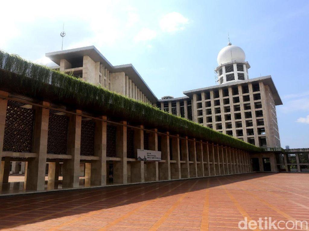 Masih Renovasi di Juni, Besok Masjid Istiqlal Belum Gelar Salat Jumat