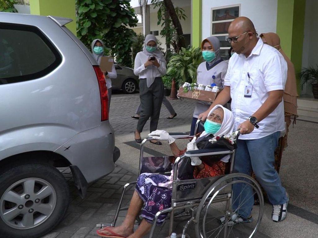 Dokter RS PHC Cerita Rahasia Nenek Usia 100 Tahun Sembuh dari COVID-19