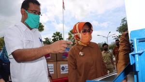 BLK Samarinda Sumbang APD untuk Tim Medis di Bontang