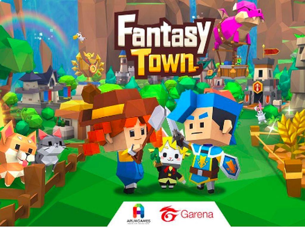 Garena Bakal Rilis Game Simulasi Baru, Namanya Fantasy Town