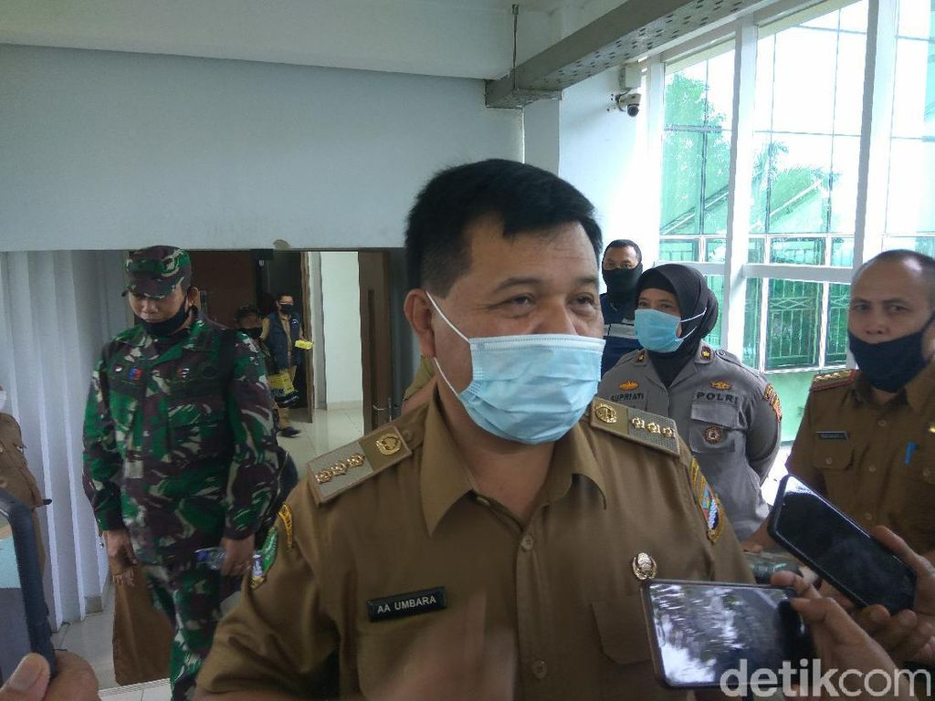 Bupati Bandung Barat Akan Tes Swab Kedua