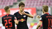 Dramatis! Unggul 2 Gol, RB Leipzig Gagal Menang di Injury Time