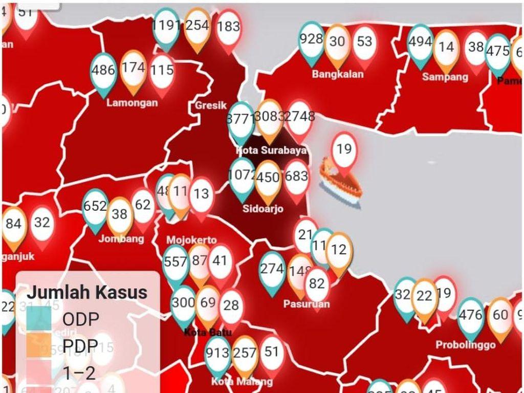 Pakar Sebut Surabaya Zona Hitam karena Tes COVID-19 Secara Masif