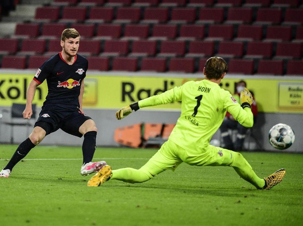 Werner Cetak Gol, Leipzig Tundukkan Cologne 4-2