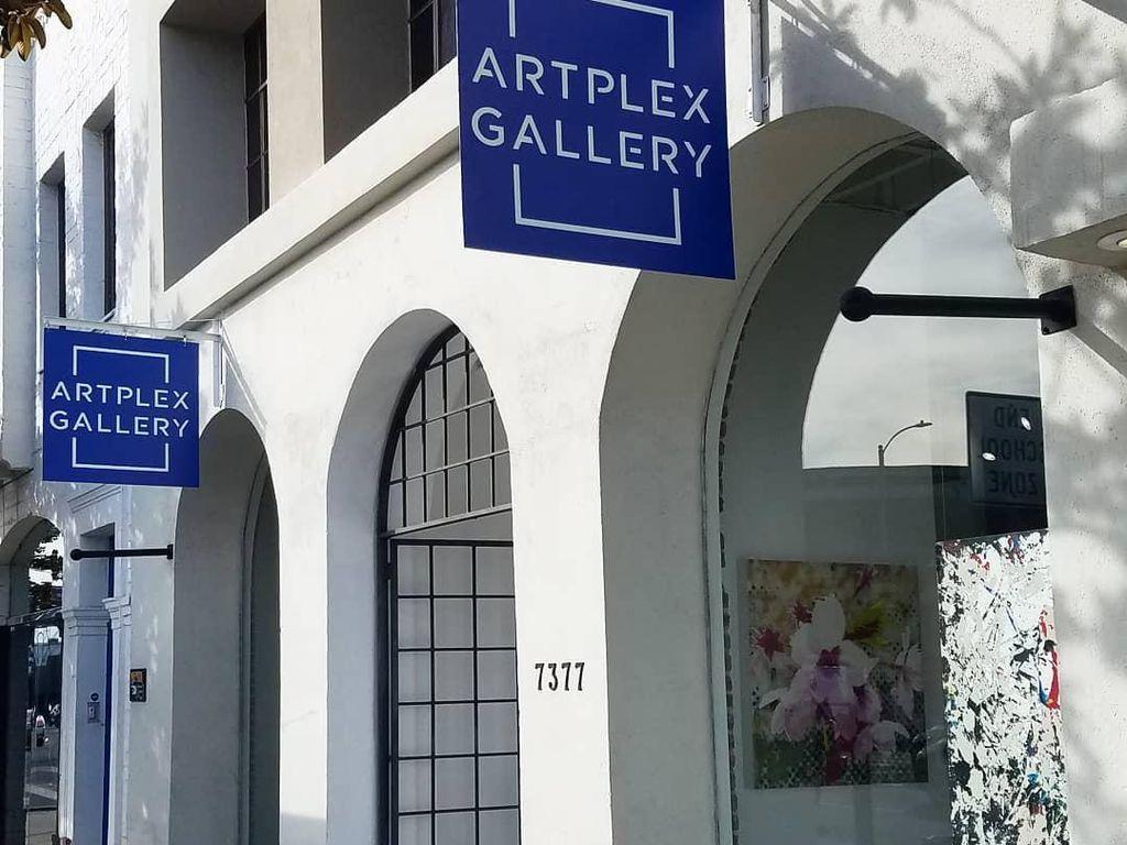 Lukisan di Galeri Artplex Los Angeles Dijarah Pendemo Kematian George Floyd