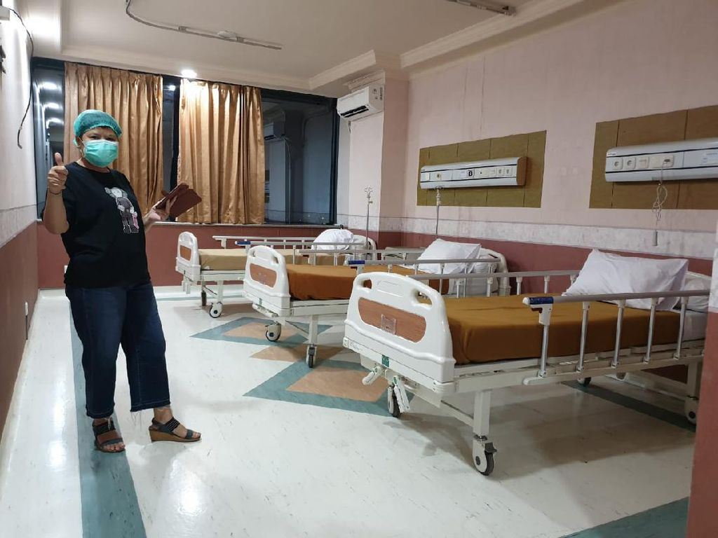 Surabaya Zona Hitam, RS Husada Utama Siapkan 40 Ruangan di Dua Lantai