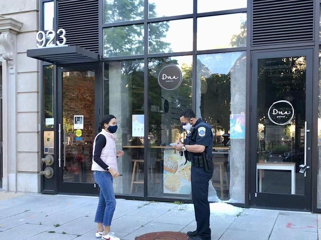 Kafe Indonesia Dua Coffee di Washington D.C Jadi Korban Demo, Ini Kisahnya