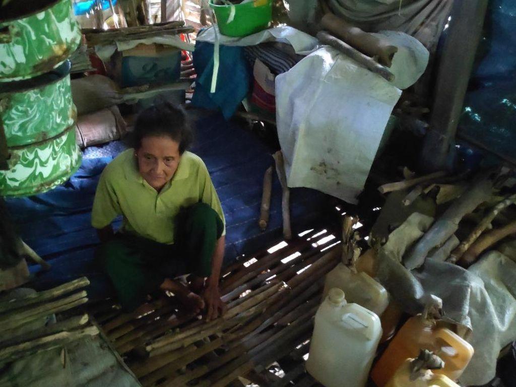 Kisah Pilu Seorang Nenek di Maros, Hidup Sebatang Kara di Gubuk Reyot