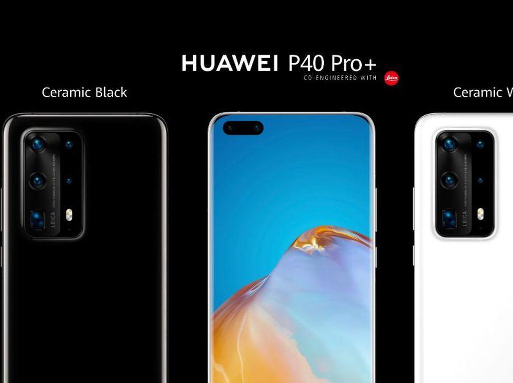 Huawei Mulai Jual  P40 dan P40 Pro+ di Indonesia