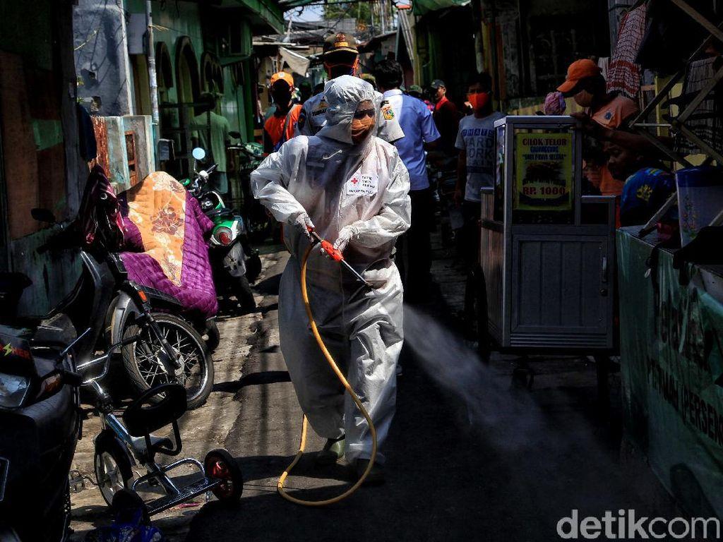Jelang New Normal, Operasi Disinfeksi Corona Sasar Pemukiman Padat