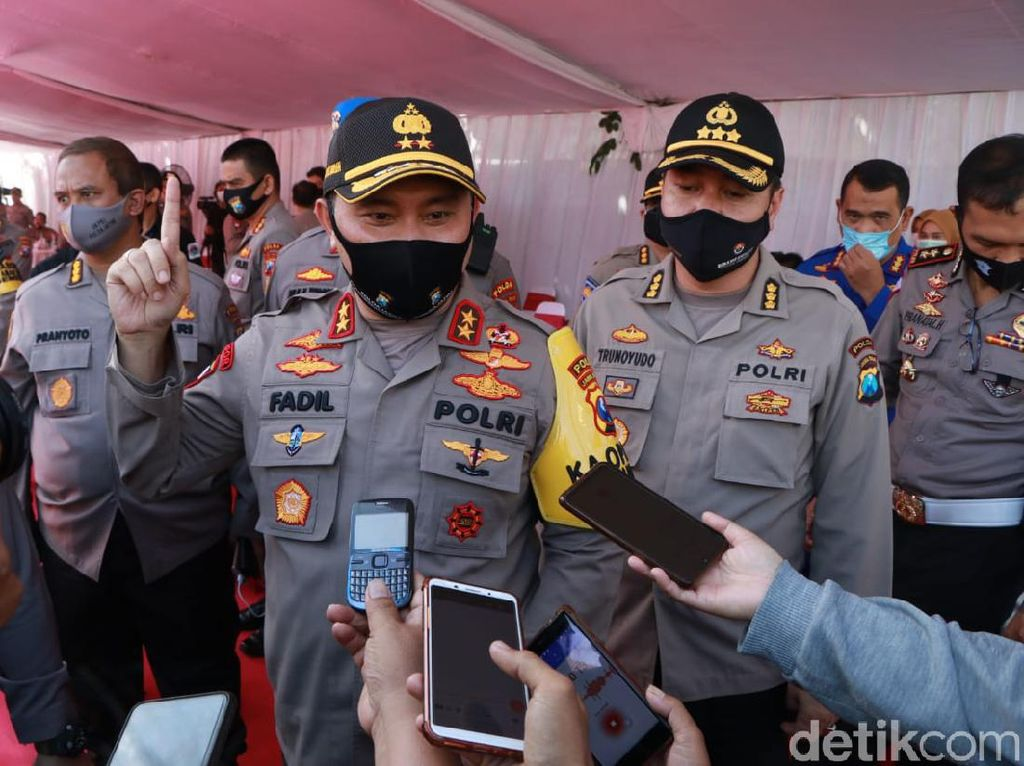 Surabaya Zona Hitam COVID-19, Ini Saran Kapolda Jatim