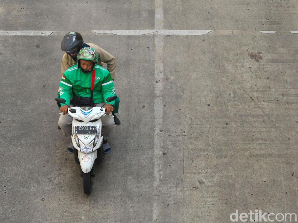 Jakarta PSBB Total, Ojek Online Dilarang Bawa Penumpang Lagi?
