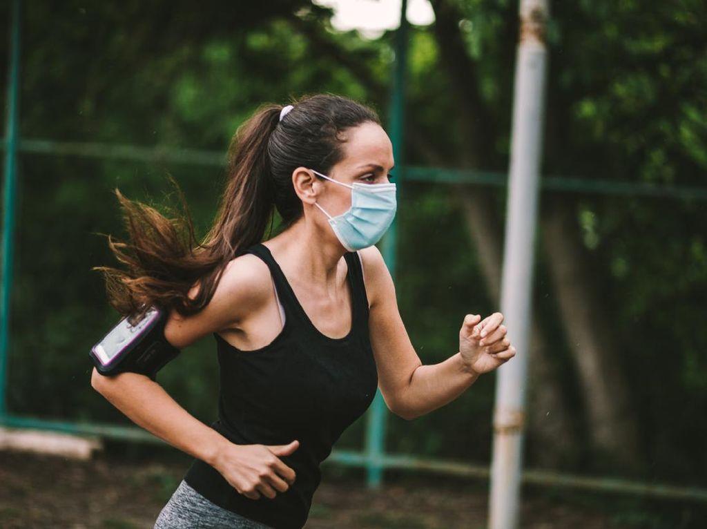 Penting untuk Cegah Corona, Ini Aturan Pakai Masker Saat Olahraga