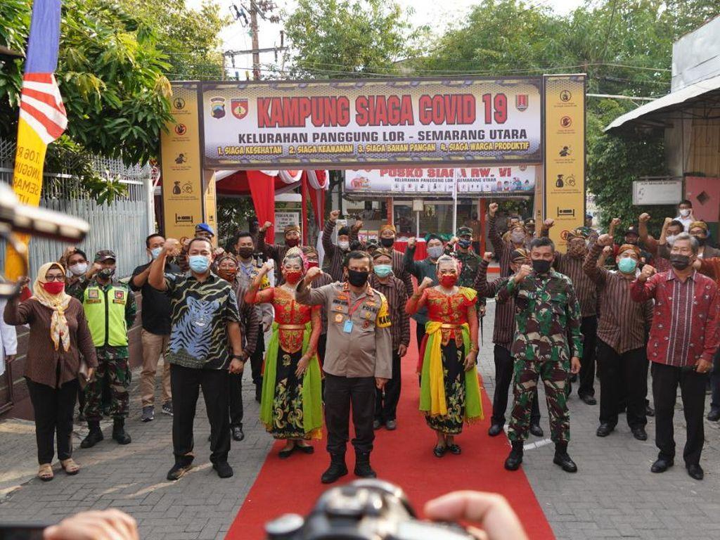 Wali Kota Semarang Dukung Pendirian Kampung Siaga COVID-19