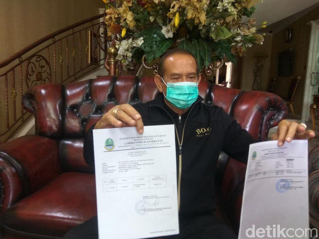 Cerita Pria Usia 77 Tahun di Cimahi Sembuh Corona