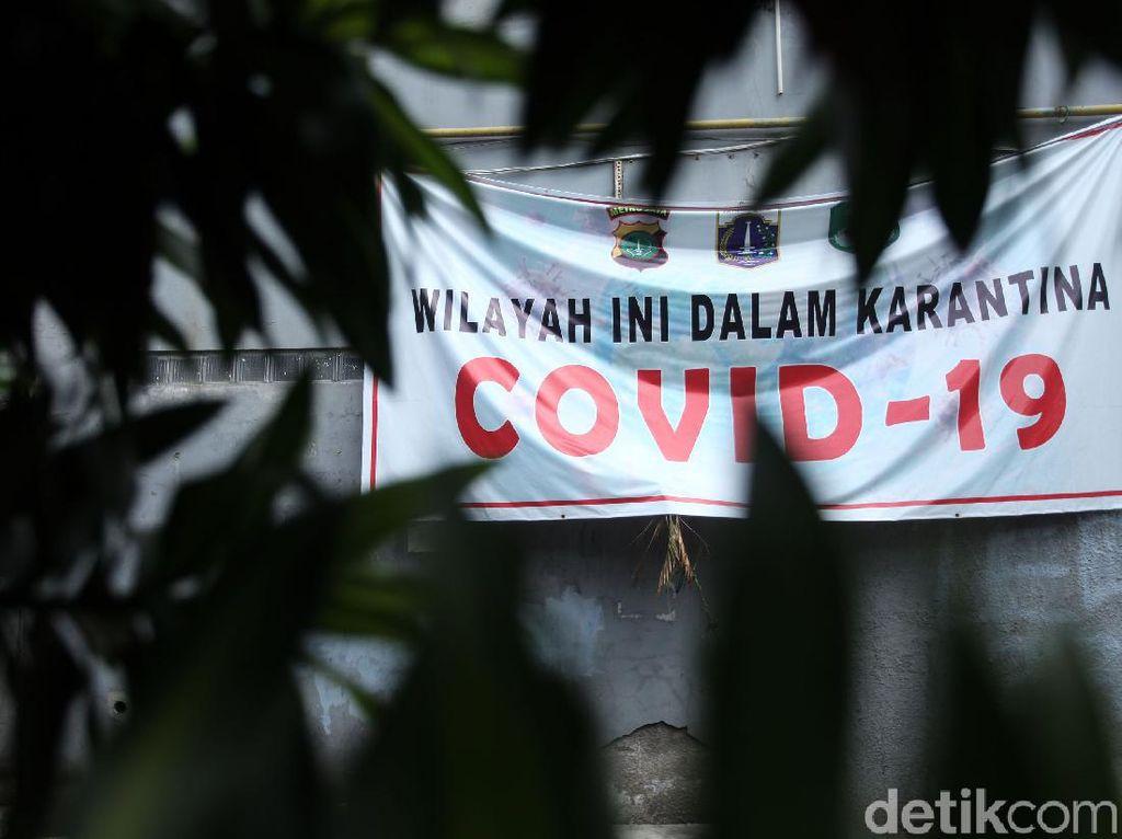Makin Banyak! 82 RW DKI Masuk Zona Merah COVID-19, Jaksel Terbanyak