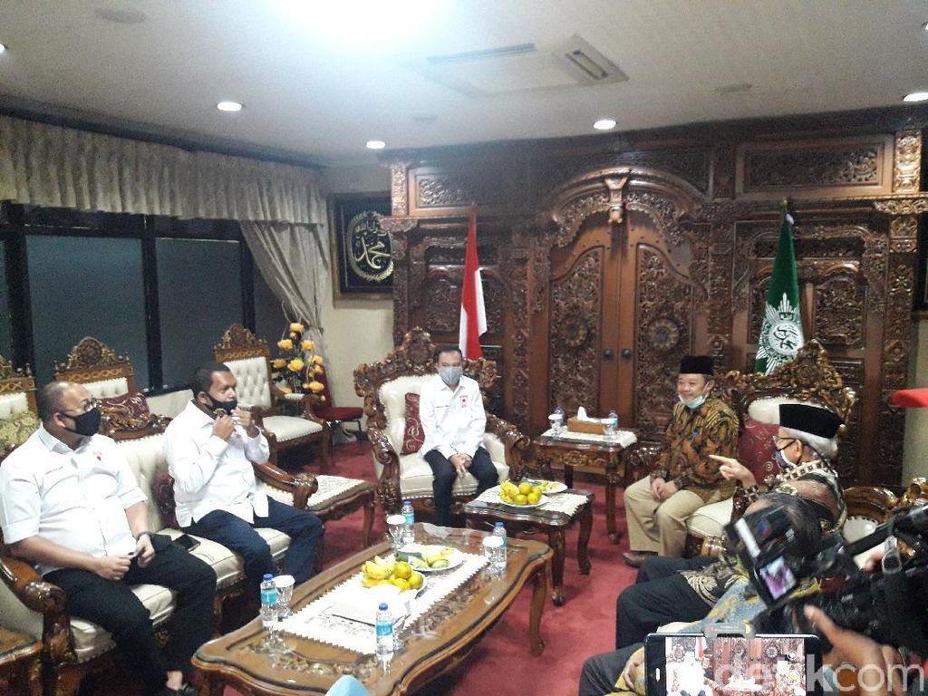 Sambangi Muhammadiyah, Satgas COVID-19 DPR Bahas Pembukaan Rumah Ibadah