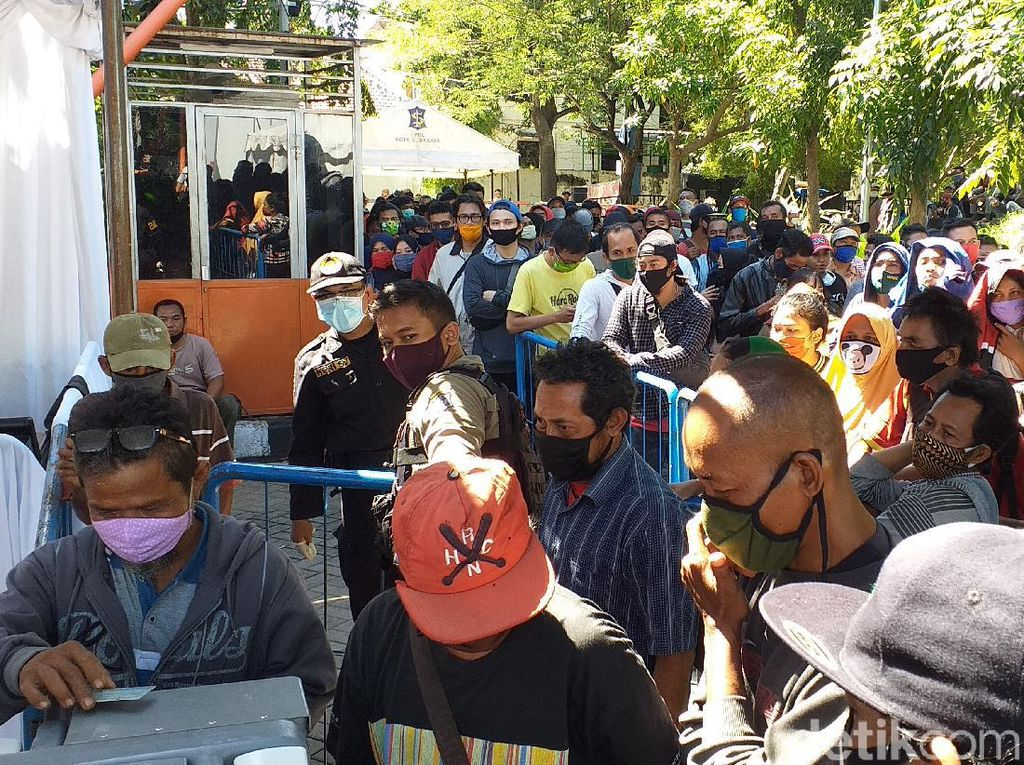 Survei: 59 Persen Warga Surabaya Percaya Kecil Kemungkinan Terkena Virus Corona