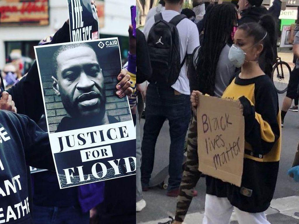 Deretan Seleb Dunia Ikut Aksi Protes Kematian George Floyd