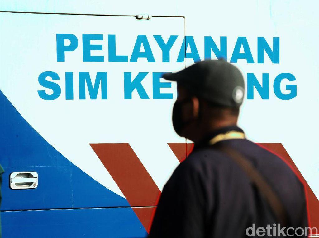 Ini Lokasi Layanan SIM Keliling di Jakarta Hari Ini, Kuota Terbatas