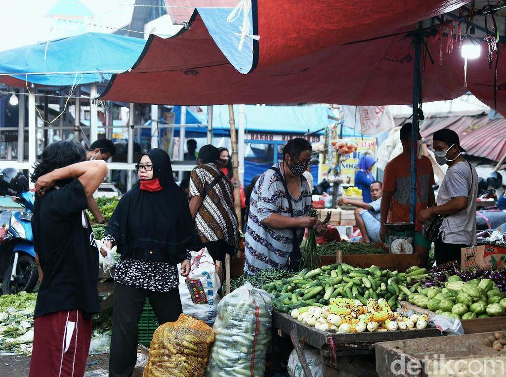 Ikappi: 529 Pedagang Pasar di Indonesia Positif Corona, 29 Meninggal