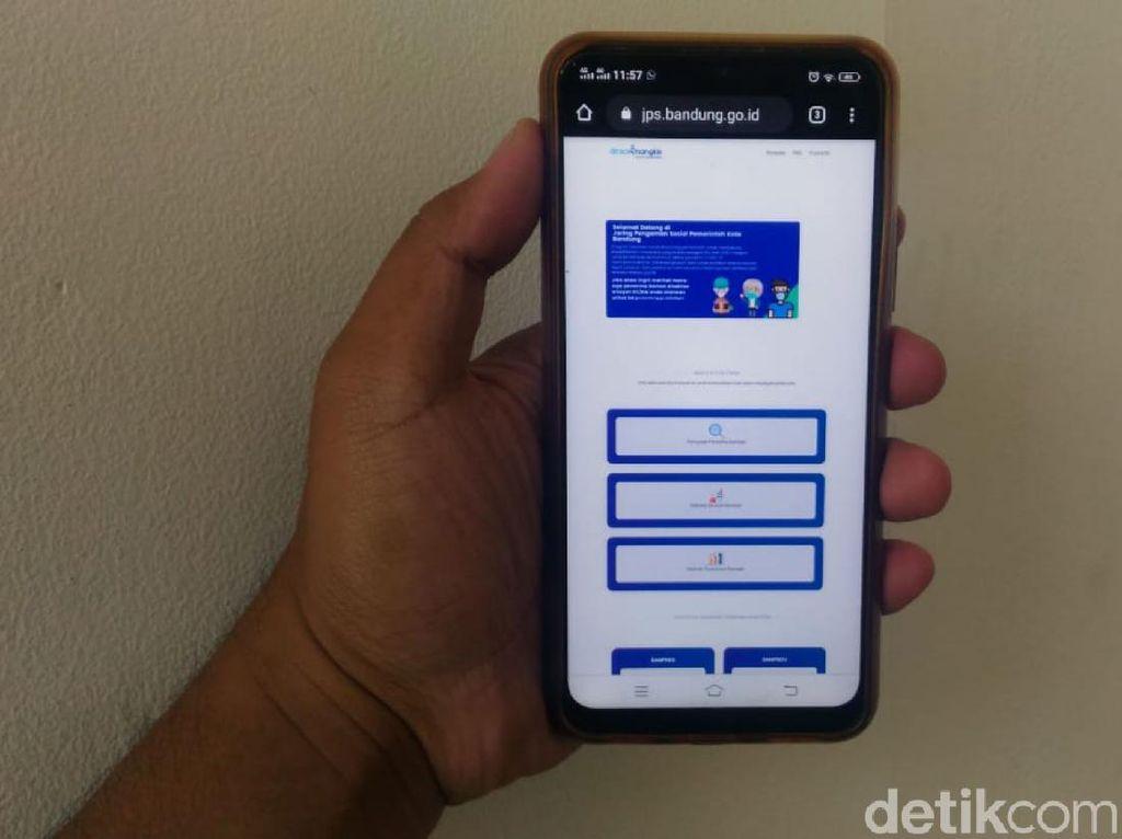 Mudahkan Informasi soal Bansos, Pemkot Bandung Luncurkan Aplikasi JPS