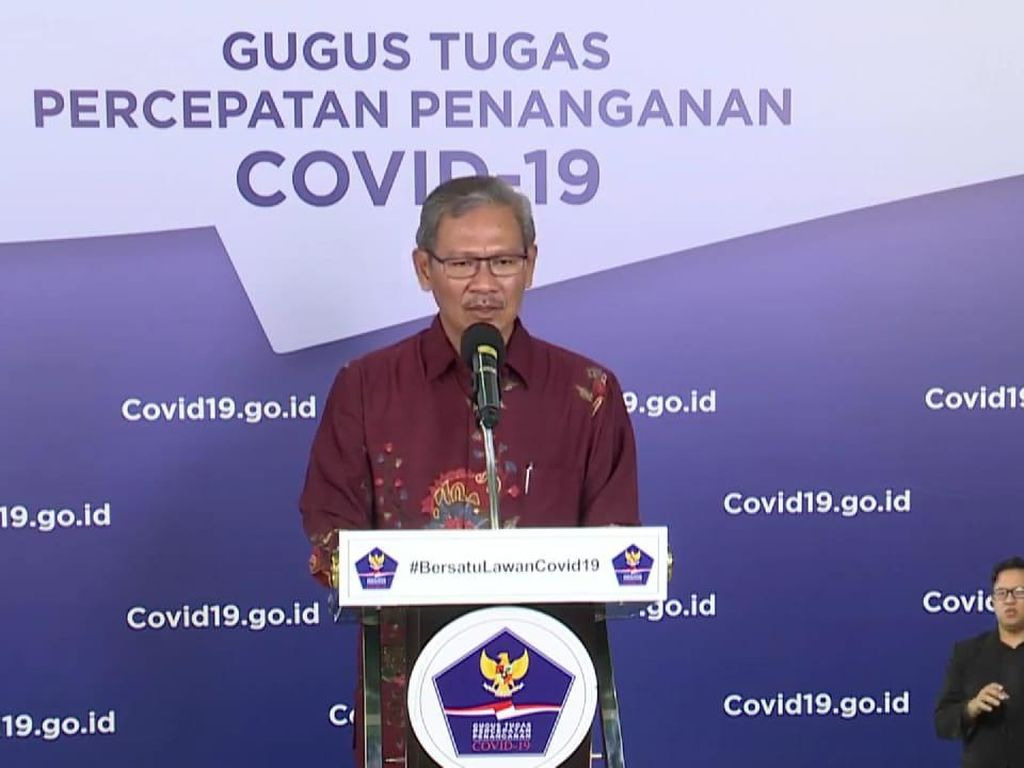 Pernyataan Lengkap Pemerintah soal 37.420 Kasus Positif Corona Per 13 Juni