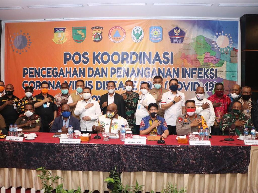 Corona Masih Tinggi, Papua Perpanjang Pembatasan Sosial hingga 19 Juni