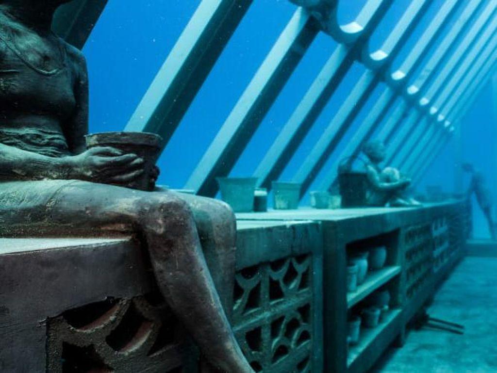 Dibuka! Museum Underwater Ala Kota yang Hilang di Film Atlantis