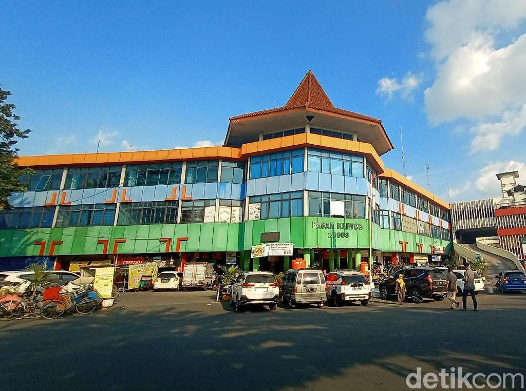Ada Pedagang Kena Corona Meninggal, Pasar Kliwon Kudus Ditutup 2 Hari