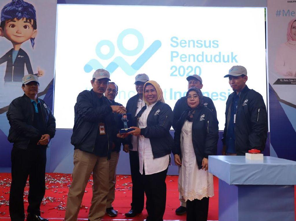 Partisipasi Tinggi,120.969 Warga Kabupaten Serang Ikuti Sensus Online