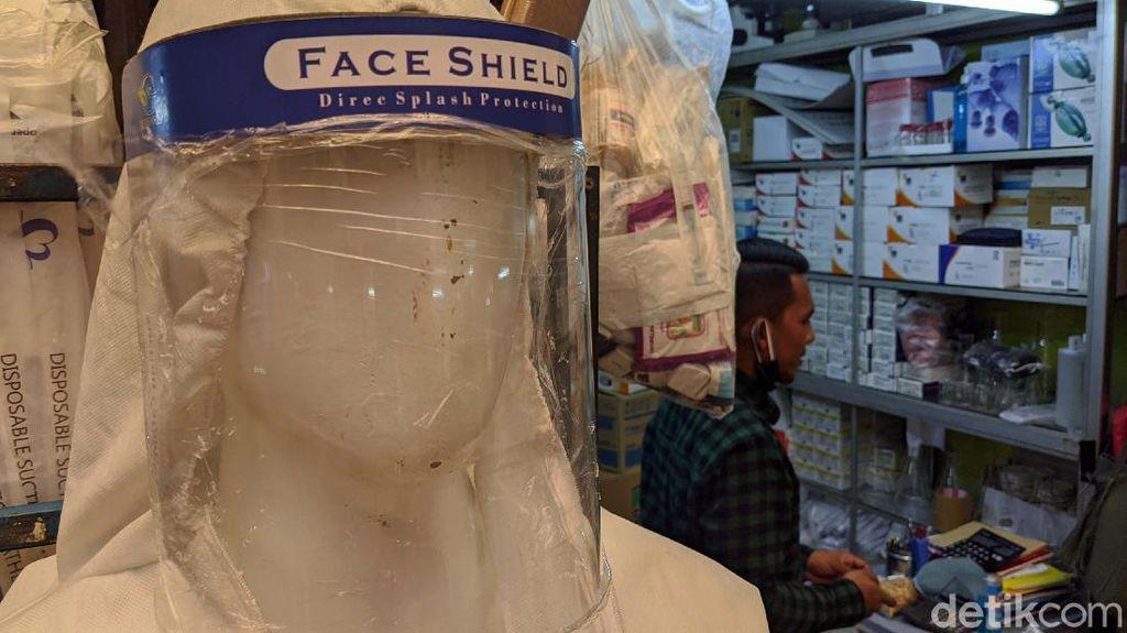 Sejak PSBB Permintaan Face Shield Melonjak