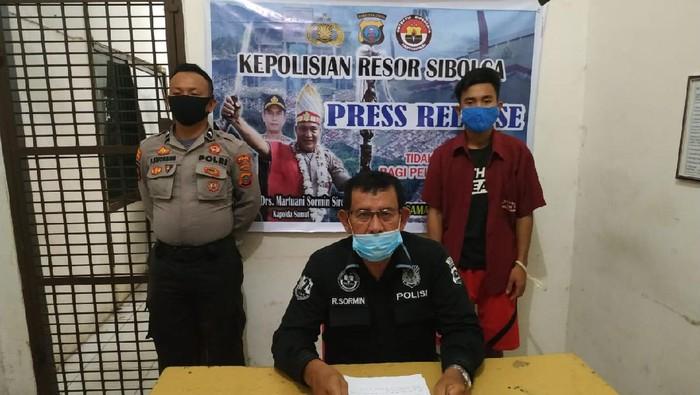 Polisi tangkap mahasiswa di Sibolga terkait pencabulan (dok. Istimewa)