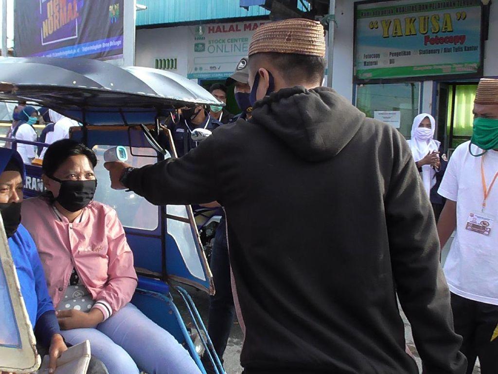 Pasar Tapa Gorontalo Akan Jadi Contoh Pasar Penerapan New Normal