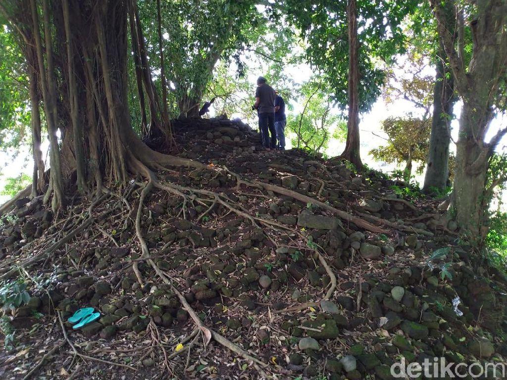 Dikeramatkan Warga, Punden di Mojokerto Ternyata Candi Warisan Majapahit