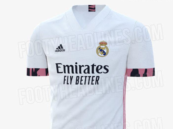 Rumor Jersey Real Madrid musim 2020/2021