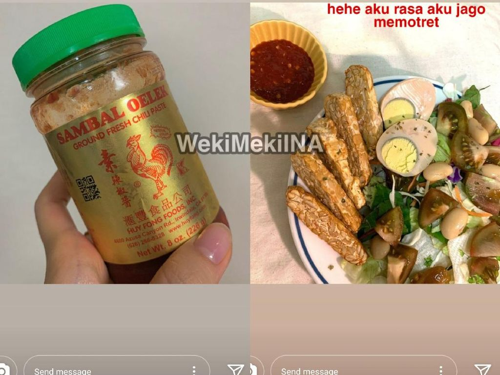 Sei Weki Meki Makan Tempe Pakai Sambal, Netizen Indonesia Heboh