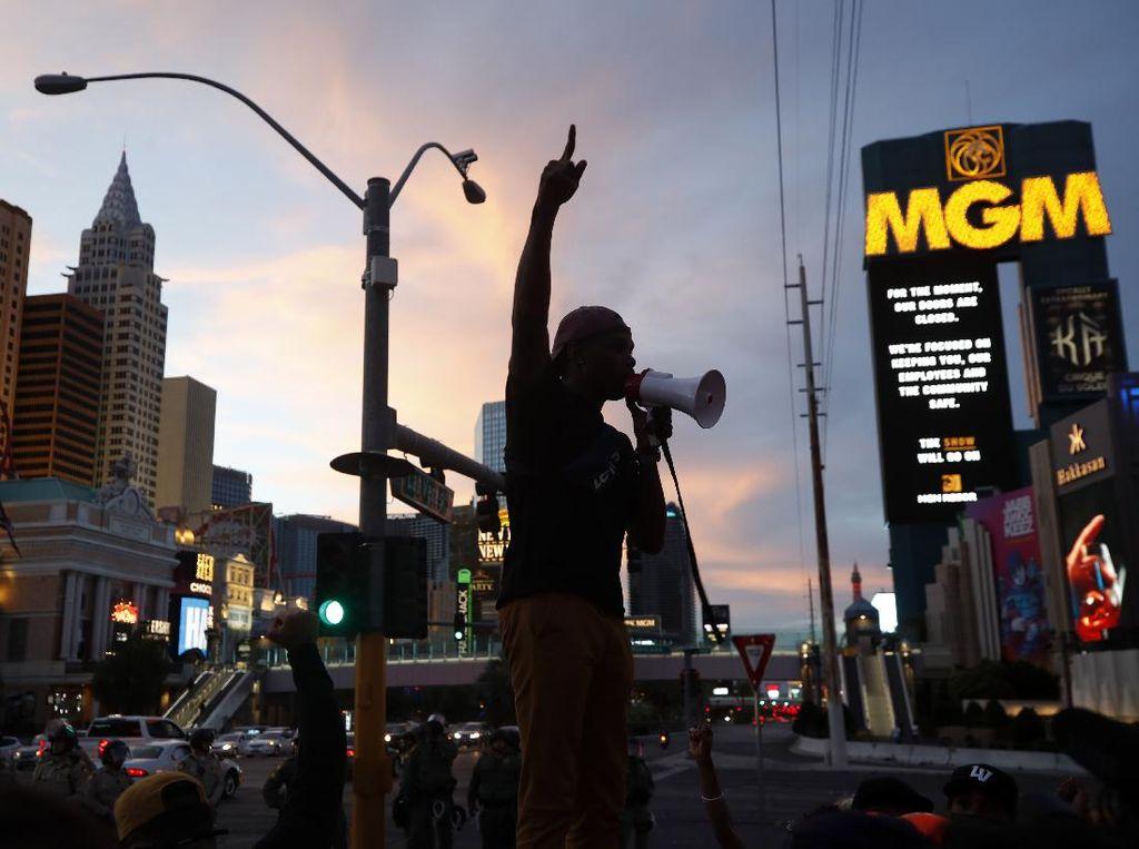 3 Ekstremis Didakwa Hasut Kekerasan Saat Demo George Floyd di Las Vegas