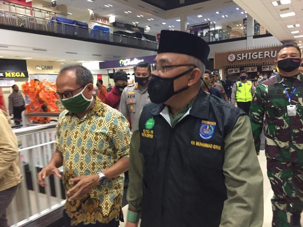 Wali Kota Idris: Mall di Depok Jadinya Dibuka 16 Juni, Rumah Makan 5 Juni