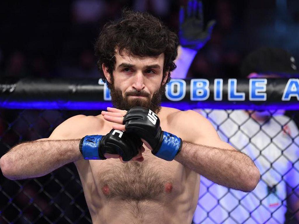 Satu Kampung Sama Khabib, Petarung UFC Penuh Gaya: Zabit