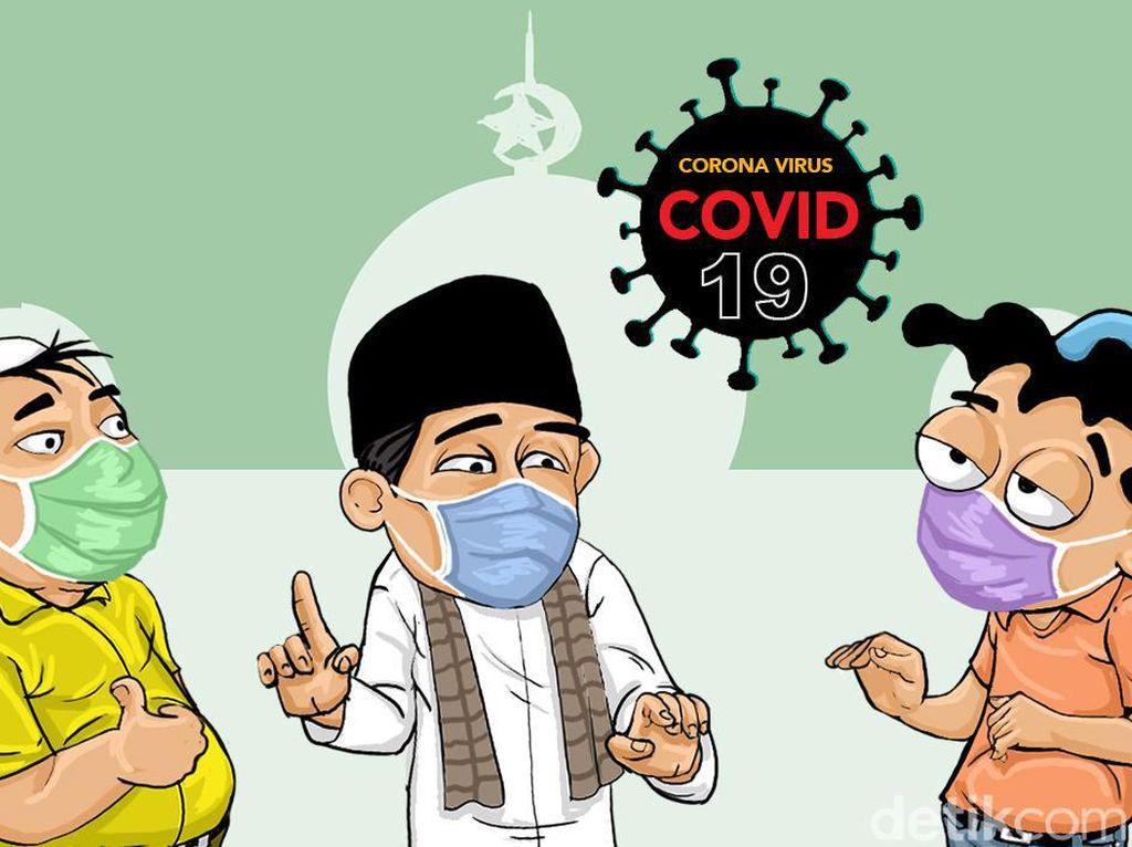 40% Warga Surabaya Tak Percaya Tertular COVID-19 di Masjid, DMI Jatim: Rasional