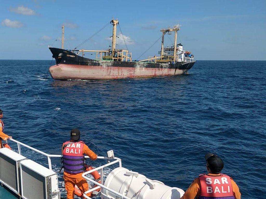 Video Kapal Kargo yang Sempat Dikabarkan Hilang di Bali Ditemukan!