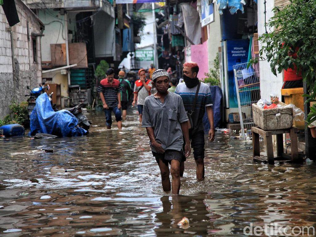 Banjir Terjadi di Wilayah Jakarta, 22 RT Terdampak