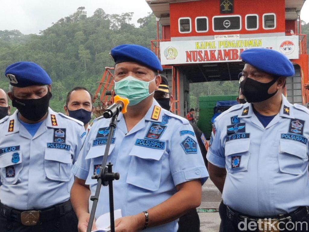 41 Bandar Narkoba Dipindah ke Nusakambangan, Termasuk 10 Terpidana Mati