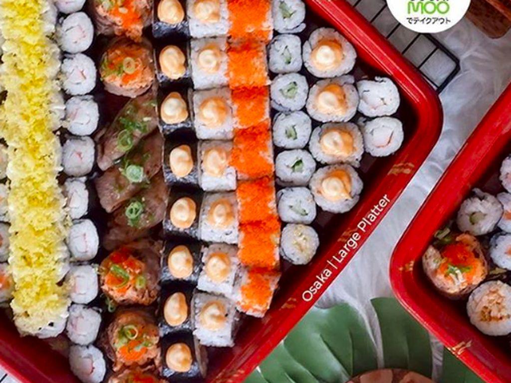 Oishii! 5 Sushi Platter Enak Ini Cocok Dimakan Ramai-ramai