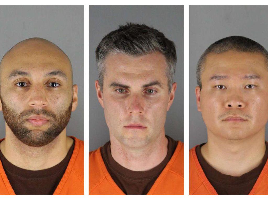 3 Eks Polisi di Kasus George Floyd Ditahan dengan Jaminan Rp 14 M