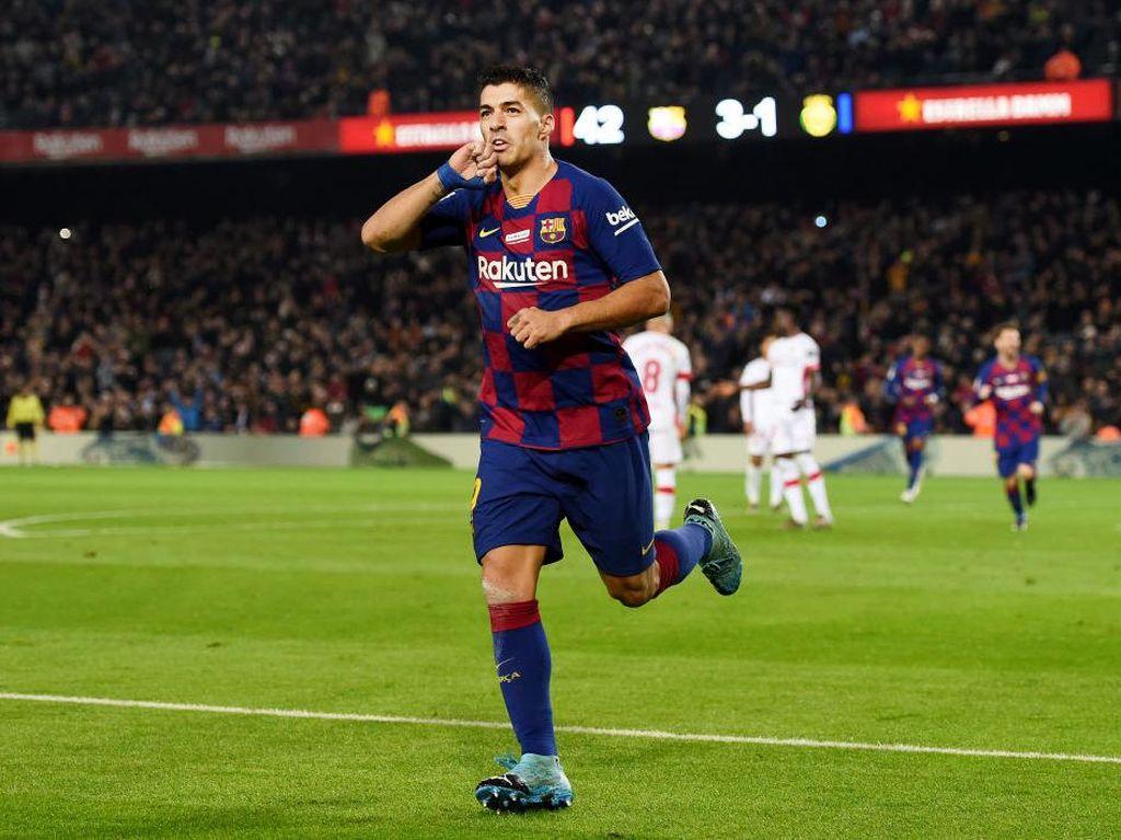 Suarez Sudah Bisa Main saat Barcelona Hadapi Mallorca
