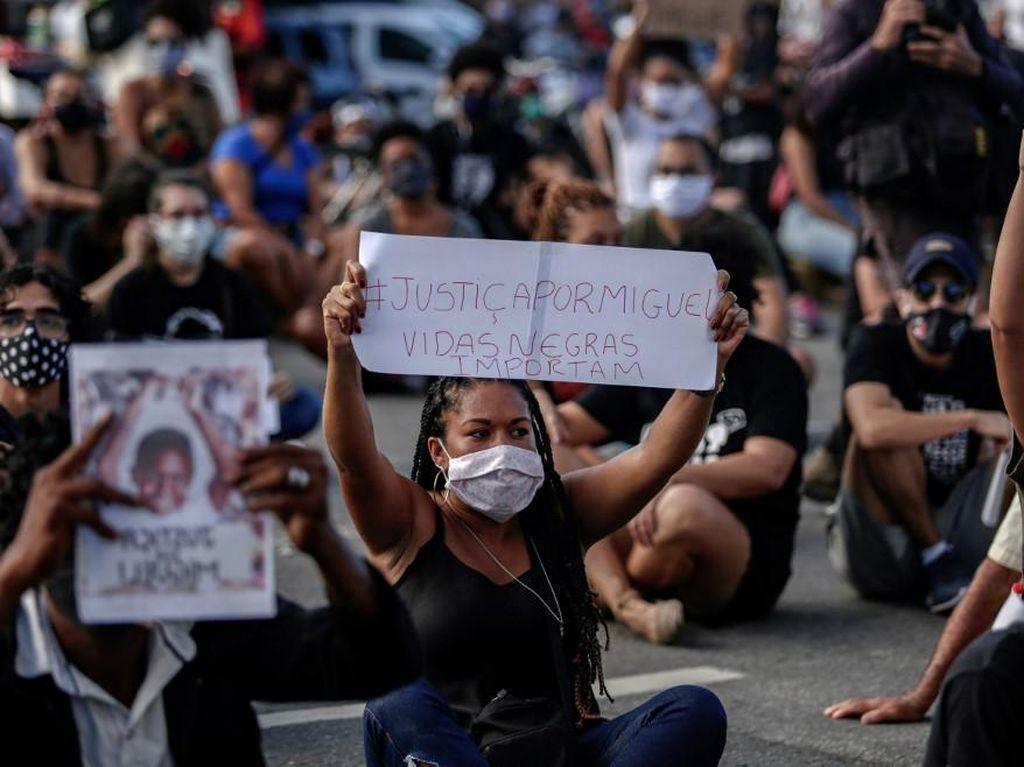 Kematian Bocah Kulit Hitam Picu Aksi Protes di Brasil