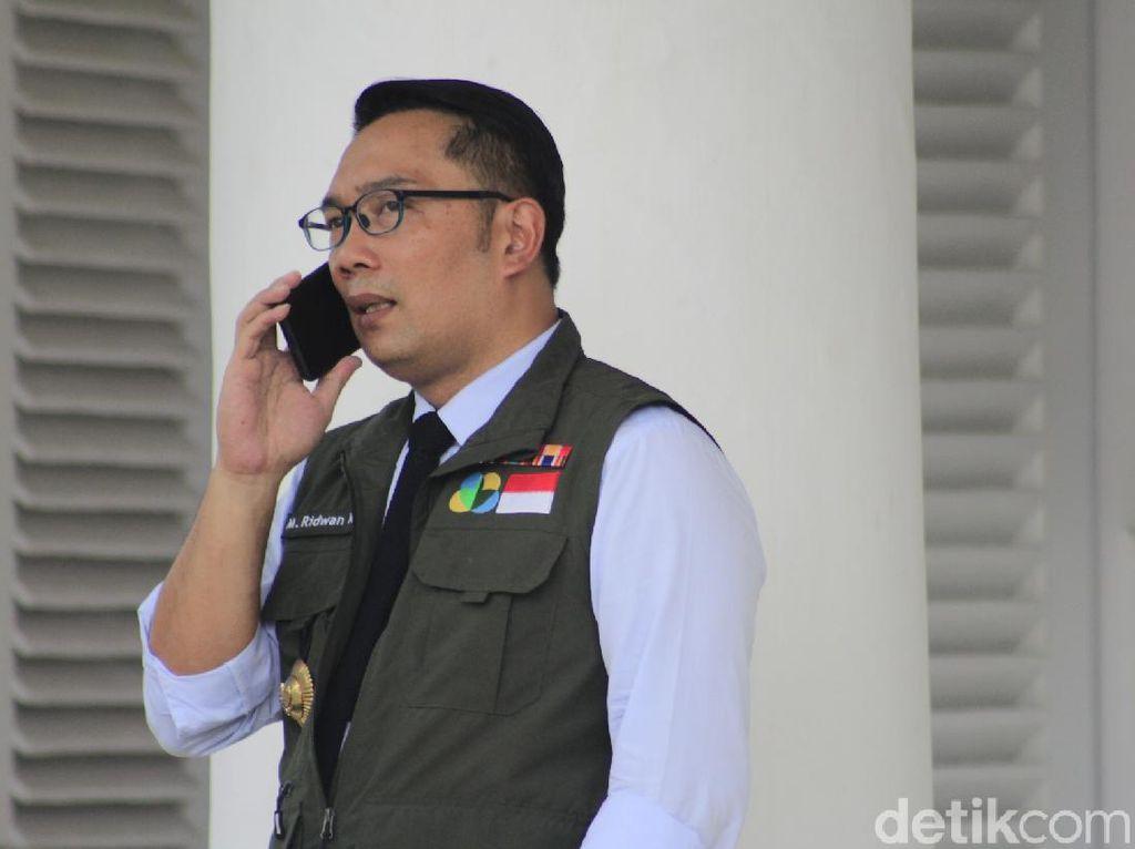 Mulai Ngantor di Depok, Ridwan Kamil Ingin Penanganan COVID dengan DKI Seirama